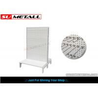 Wholesale Custom Steel Supermarket Display Shelves With Volcano Perforated Panel from china suppliers