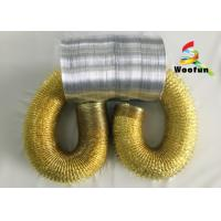 Wholesale Environmental Friendly Range Hood Flexible Duct , Single Sided Aluminum Flexible Ducting from china suppliers