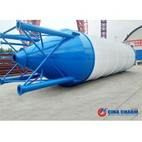 China Easy Transportation Bulk Powder Storage Silo/50T Welded Cement Silo for sale 50t bolted cement silo on sale