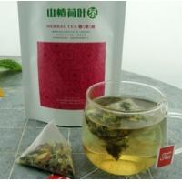 Wholesale natural lotus leaf maybush herbal tea triangle teabag from china suppliers