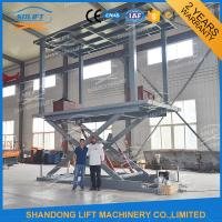 Wholesale Hydraulic Mobile Scissor Car Lift For Basement Cheap Car Lifts Garage Elevator from china suppliers