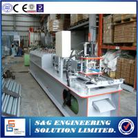 Quality Used roller shutter door roll forming machine GCR15 / HRC5 Shaft material for sale