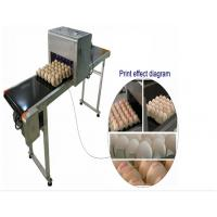 Wholesale Automatic Single Row Egg Printing Machine With Small Solvent Printer from china suppliers
