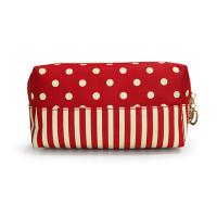 Cosmetic travel bag, made of polyester material, portable,OEM welcomed