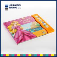 Wholesale Full color 6 sound buttons music book printing and glossy lamination or Spot UV from china suppliers