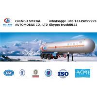 Wholesale 23560kgs liquid ammonia gas trailer for sale, hot sale ammonia tank trailer, 23.5tons bulk lpg gas tank trailer from china suppliers