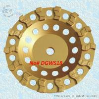 Wholesale S-shape Row Cup Grinding Wheel - DGWS18 from china suppliers