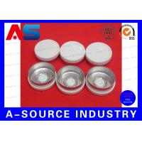 Wholesale White Color Aluminum Plastic Cap , 10mL Chemistry Aluminium Bottle Caps from china suppliers