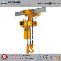 Wholesale 1ton electric chain hoist with manual trolley from china suppliers