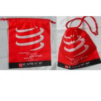 Wholesale Customized Women's favorite / convenie nce / festive red / drawstring plastic bags  for gifts / clothing, clothes. from china suppliers