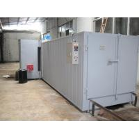 Wholesale Oil-Fired Powder Coat Curing Oven With Fuel Heating System , Half-Automatic Control from china suppliers