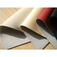 Wholesale 25 Meters Length Eco Friendly Leather , Nappa Surface Car Leather Upholstery from china suppliers