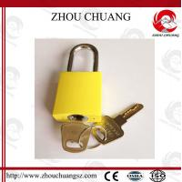 Quality 38mm Steel Shackle Diameter Auto-Populated  Safety Aluminum  Padlock for sale