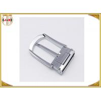 Wholesale Various Colors Noble Metal Belt Buckle , Solid Silver Color Belt Buckle from china suppliers