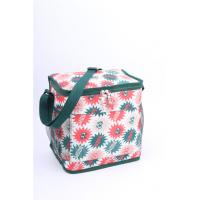 Quality Outdoor Green Polyester Cooler Bag Insulated Cooler Lunch Bags Men Sewing for sale