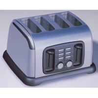 Wholesale Electric Wide slots stainess steel 4 slice toaster Toaster Oven for bread from china suppliers