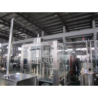 Wholesale Hot Tea 8000Bph Monoblock Liquid Filling Machine With PLC Control from china suppliers