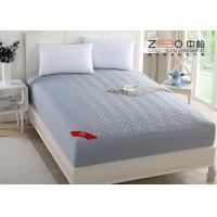 Wholesale 180T Professional Hotel Mattress Protector Cotton Nice Hollow Fiber Filling from china suppliers