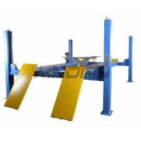 Wholesale Four Ton 4 Post Auto Lift With Second Jack / Hydraulic Lifts For Cars from china suppliers