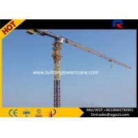 Wholesale Professional Dubai Topless Tower Crane Freestanding Height 41m from china suppliers