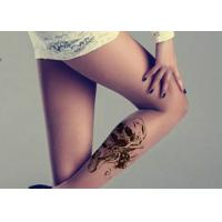 Quality Custom Glitter Body Tattoo Stickers , Multi Coloured Waterproof Tattoo Stickers for sale