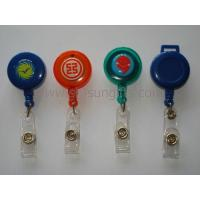 Quality Different various color badge reel, retractable reel, promotional gift for sale