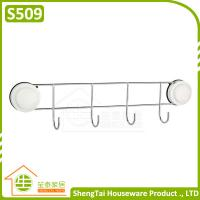 Wholesale Quality Guarantee Home Storage Suction Wall Mounted Hook Rail from china suppliers