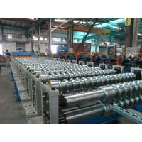 Wholesale Custom 45# Forge Steel and 18 Stations Corrugated Roof Rolling Forming Machine from china suppliers