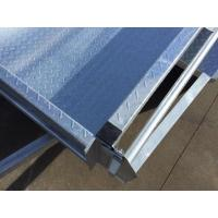 Wholesale Steel 350 Sides 7x5 Off Road Box Trailer , Off Road Tandem Trailer Galvanized from china suppliers
