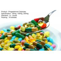 Wholesale Natural Progesterone Capsules 100Mg 200Mg Steroid Based Hormones from china suppliers