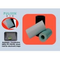 Wholesale Conductive Polypropylene Sheet Roll , 1.5mm High Strength Plastic Sheet from china suppliers