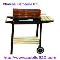 Buy cheap Charcoal Barbeque Grill with shelves from wholesalers