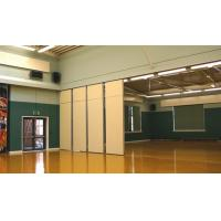 Buy cheap Acoustic Fabric Sliding Hotel Movable Partition Walls with Aluminium Track Roller from wholesalers