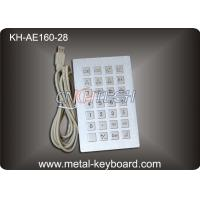 Wholesale Anti - corrosive Stainless steel Kiosk Keyboard Rugged with dust - proof from china suppliers