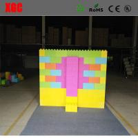 Wholesale 2018 Colorful hotsale kids building blocks plastic giant plastic blocks diffrent size toys gift outdoor bedroom from china suppliers