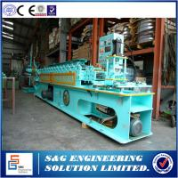 Quality Door Bottom Steel Framing Roll Forming Machine , Roll Up Shutter Color Steel Roll Forming Machine for sale