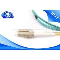 Buy cheap FTTH 2.0 / 3.0mm SM 9/125 um OM3 Fiber Opitc Cable with LC Connector from wholesalers