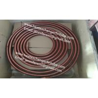 Wholesale 11FPI Extruded Fin Tube Machine , SB111 C12200 Extrusion Copper HIGH Fin Heating Coils from china suppliers