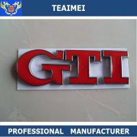Wholesale OEM Welcome Auto Part Body Sticker Car Letter Emblems For GTI from china suppliers