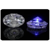 Wholesale Party Use Pyramid Shape Led Light Ice Cubes By Replaceable 2 * Cr1220 Button Cell from china suppliers