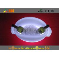 Wholesale Outdoor / Indoor LED Ice Bucket Colors Changeable , ROHS UL from china suppliers