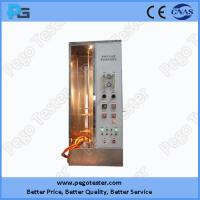 Wholesale IEC60332-1 Single Wire Vertical Flammability tester for Lighting appliance and Householding Appliance from china suppliers