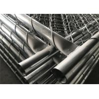 Buy cheap Chain Link Construction Fencing Panels 6'x10'/9.5' Mesh 2.25