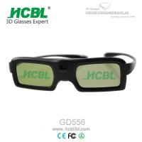 Wholesale Electronic Plastic Theater Cinema 3D Glasses Active On Computer / Projector 3D Glasses from china suppliers