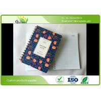 Wholesale Plastic Paper Double Spiral Bound Notebook With Elastic Band Spiral Ring from china suppliers