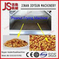 Quality Continuous Automatic Peanut Frying Machine Electricty / Gas / Diesel for sale