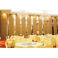 Wholesale Banquet Hall Acoustic Room Dividers , Floor to Ceiling Sliding Partition Wall from china suppliers