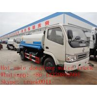 Wholesale cheapesr price Dongfeng XBW LHD 4*2 5,000L water tank for sale, Factory sale good price dongfeng 5m3  cistern truck from china suppliers