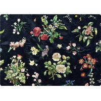 Wholesale Black Embroidered Curtain / Bags / Bedding Fabric Vintage Upholstery Fabric from china suppliers