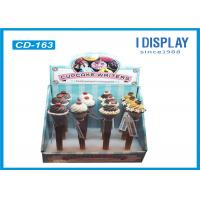 Wholesale Retail Cardboard Counter Display , Stationery Display Stands Multi Cells from china suppliers